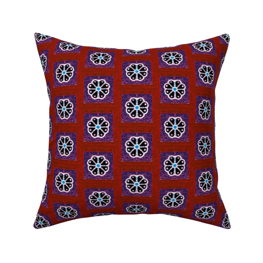 Catalan Throw Pillow featuring egyptian 93 by hypersphere