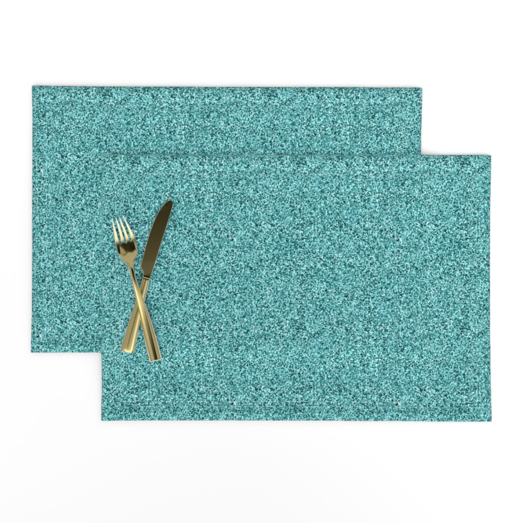 Lamona Cloth Placemats featuring CD28 - Speckled Rustic Teal Pastel Texture by maryyx