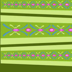 Anna Coronation Stripes