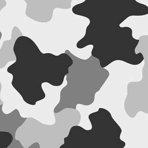 Black and white Camo