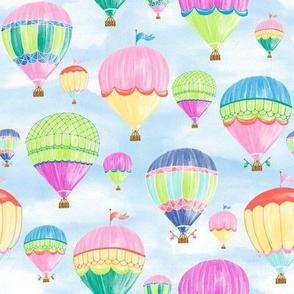 "Hot Air Balloons - jewel 8"""