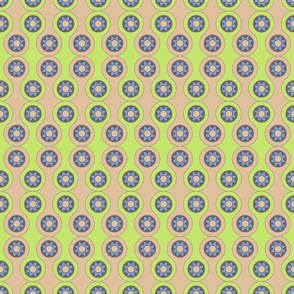 flower circles pattern