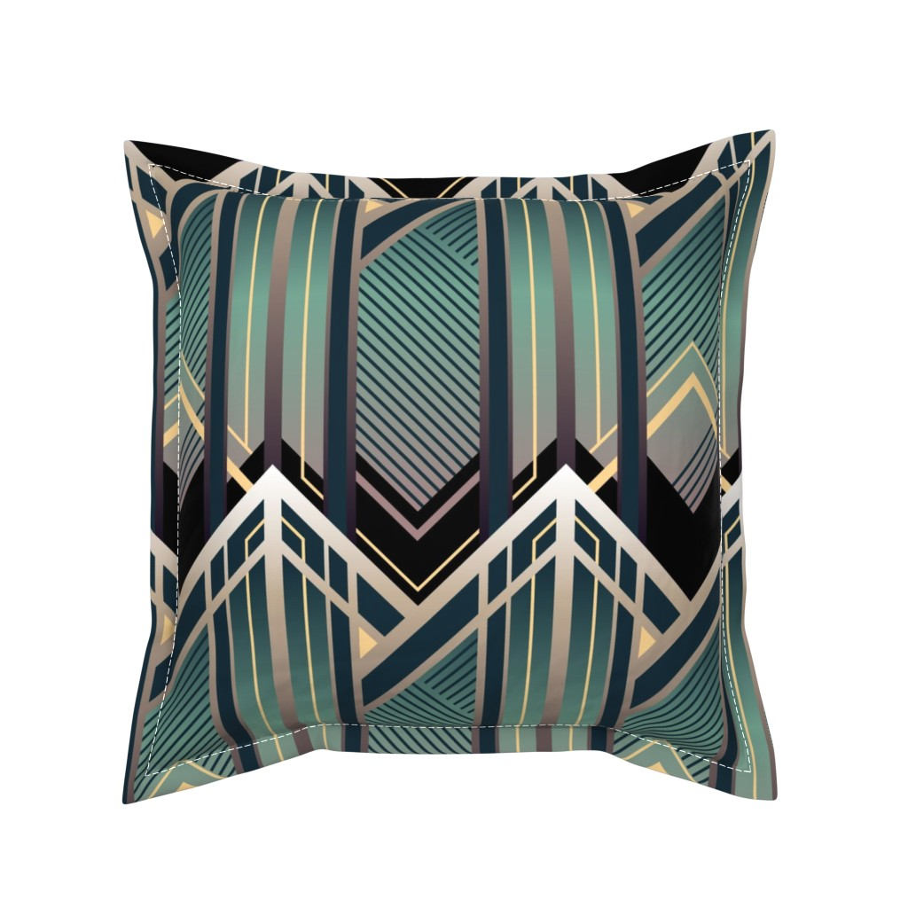 Serama Throw Pillow featuring Emerald City by sowilofir