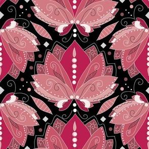 1920 Lotus Flower