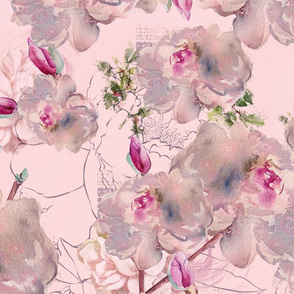 Aiya Flowers Pink