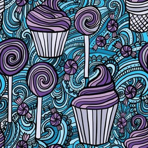 Sweet Treats (Blue and Purple)