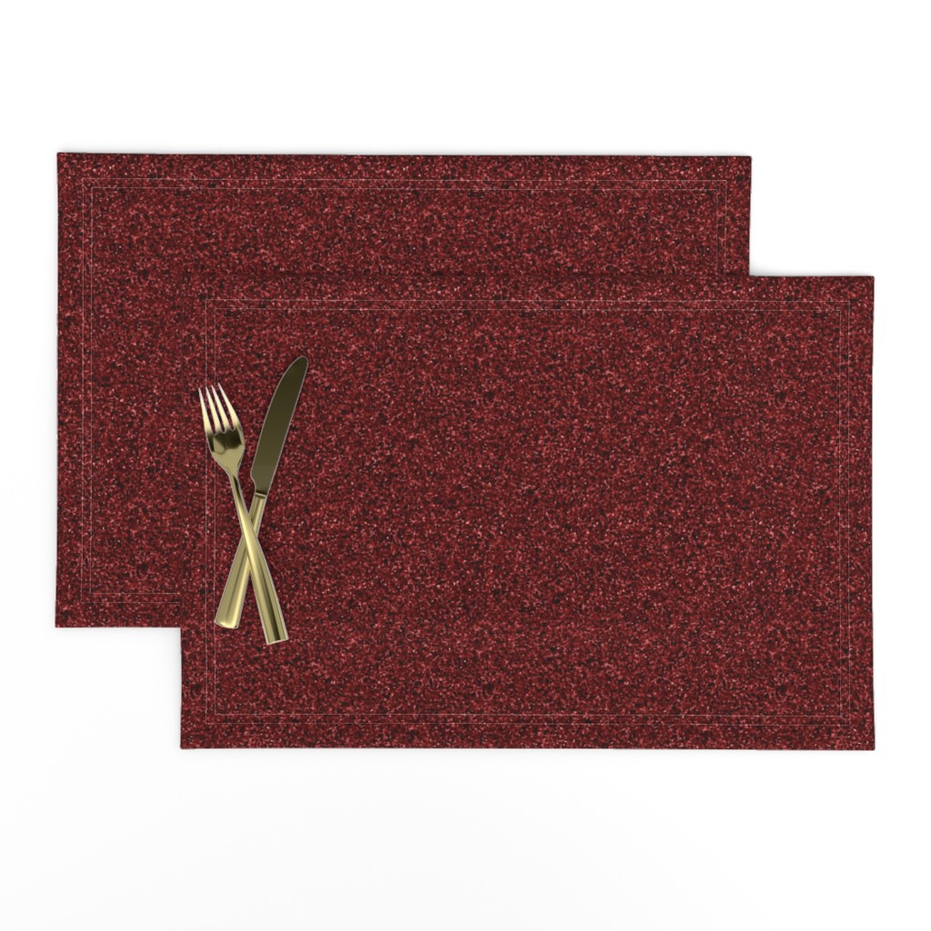 Lamona Cloth Placemats featuring CD40 - Speckled Wine Red Texture by maryyx
