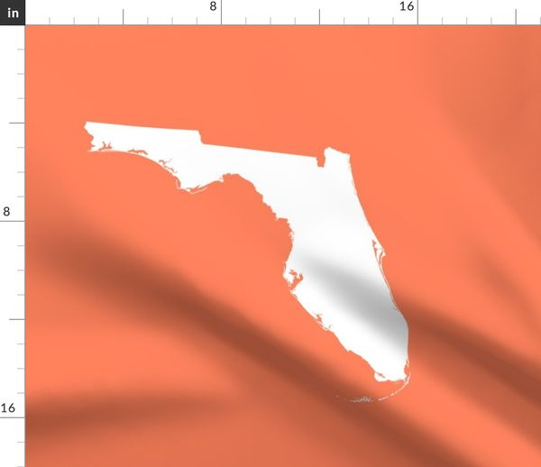 Florida Physical Wall Map 137 X 117cm Usa And Us States Wall