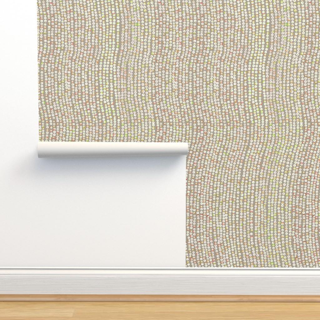 Isobar Durable Wallpaper featuring Puka Shells Holidays Tan 150 by kadyson