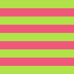 green and pink stripes 2in :: halloween