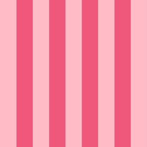 light pink and pink stripes 2in :: halloween vertical