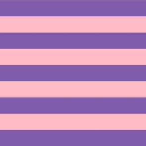 purple and light pink stripes 2in :: halloween