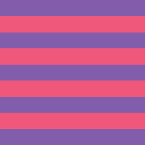 purple and pink stripes 2in :: halloween