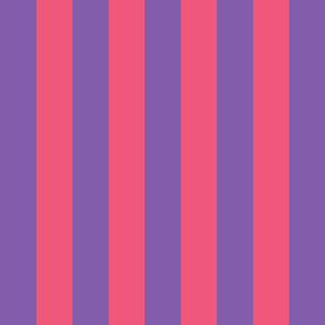purple and pink stripes 2in :: halloween vertical