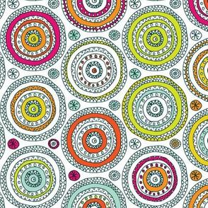 Doodled Circles