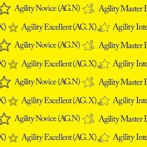 Agility Titles Yellow