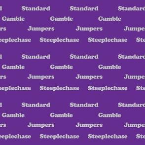 Agility Classes Purple