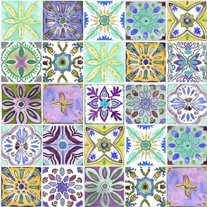 Andalucian tiles