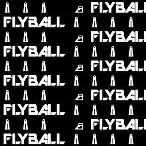 Flyball Lane 1 Inch Black