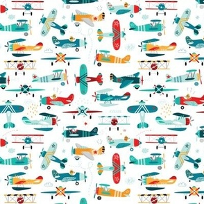 airplanes pattern-small scale