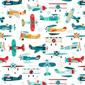 airplanes pattern