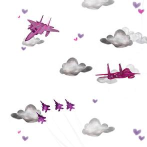 F15c pink on white
