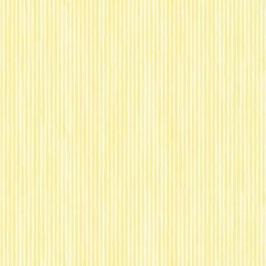 Vertical Watercolor Mini Stripes M+M Sunshine by Friztin