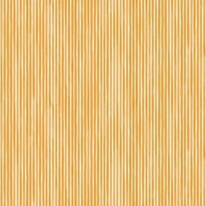 Vertical Watercolor Mini Stripes M+M Persimmon by Friztin