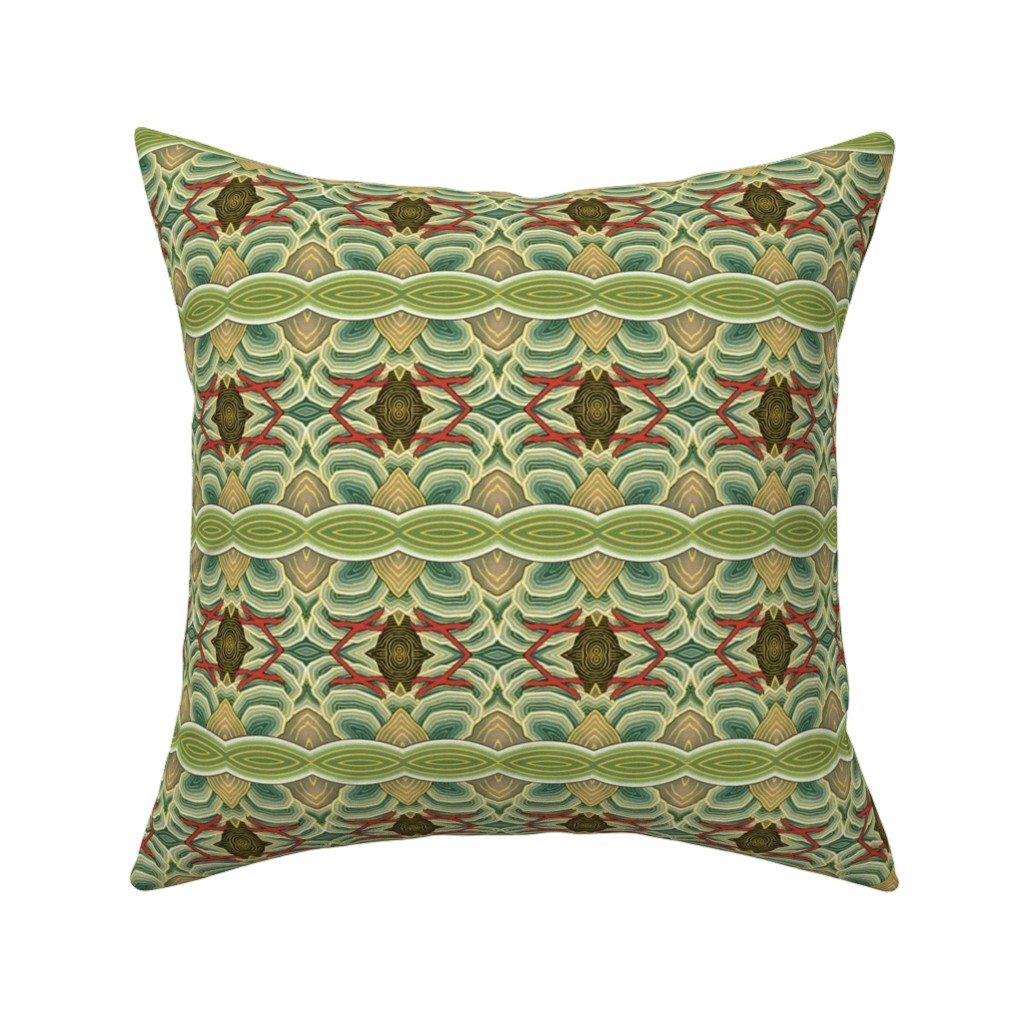 Catalan Throw Pillow featuring chinoise 71 by hypersphere
