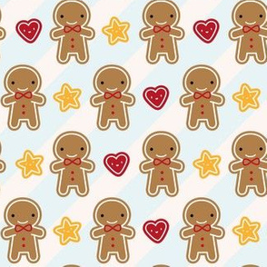 Cookie Cute Kawaii Gingerbread Men (Boys Only)