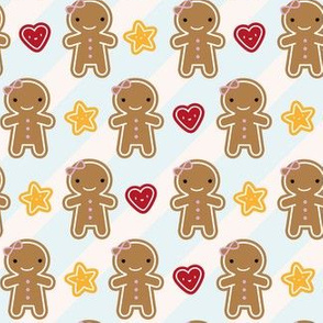 Cookie Cute Kawaii Gingerbread Girls