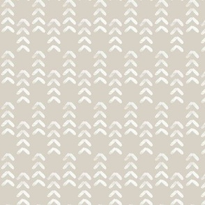 arrow stitch - beige