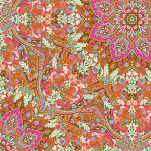 paisley-kaleidoscope-floral-leaf-symmetry-pink-red