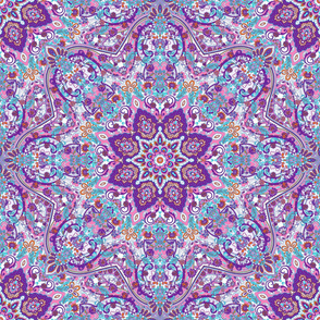paisley-kaleidoscope-floral-leaf-symmetry-turquoise-purple