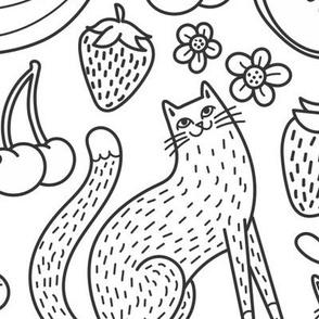 fruity felines!