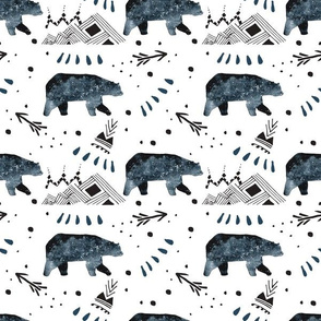 Little Bear - Small / Arrows / Mountains