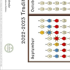 New Calendar Liturgical Colors // 20-21