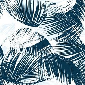 blue palm - small