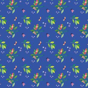 bugtown tea towel Floral