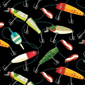 Plenty of fishing lures - at 75% of original