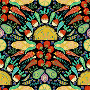 7833074-mexican-taco-fiesta-black-by-helenpdesigns