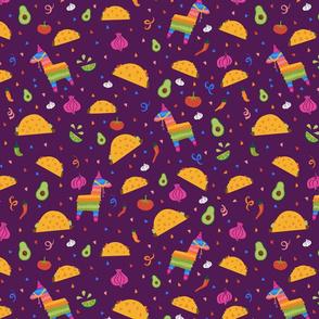 Taco Fiesta in Purple