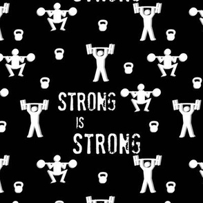 Strong is strong - Message me for custom