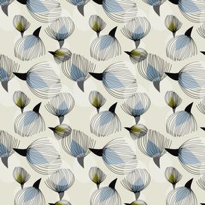 Retro Cotton Blooms