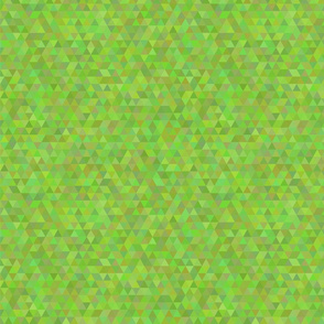 Seamless triangle pattern. Green color