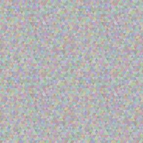 Seamless triangle pattern. Light gray