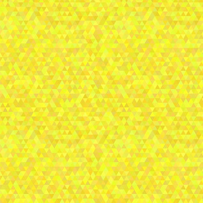 Seamless triangle pattern. Yellow color
