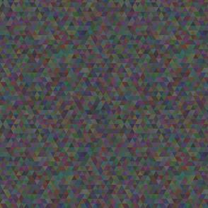 Seamless triangle pattern. Dark gray.