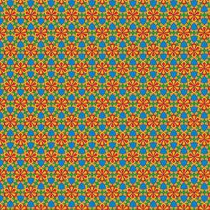 Beautiful colorful arabic design