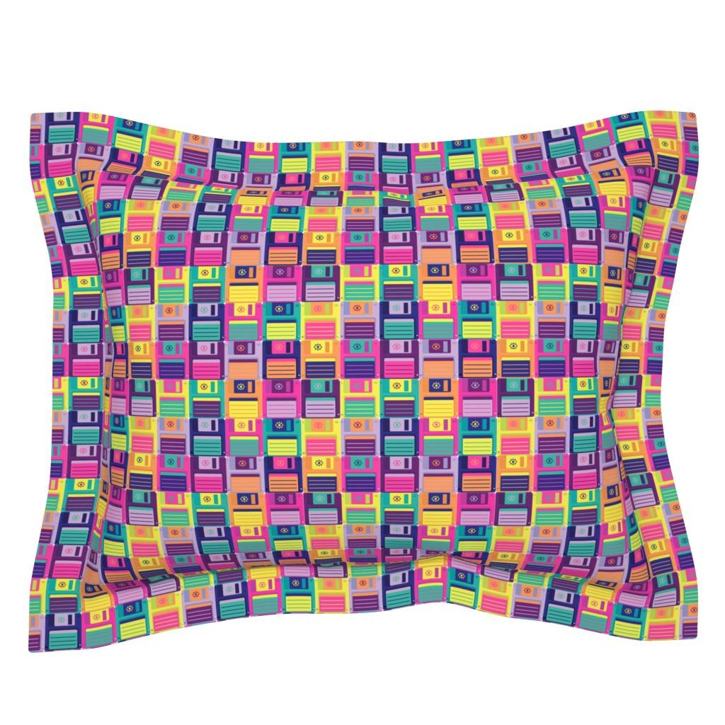 Sebright Pillow Sham featuring Eye Miss Retro Storage by miranema